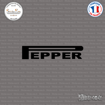 Sticker JDM Pepper