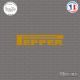 Sticker JDM Pepper Sticks-em.fr Couleurs au choix