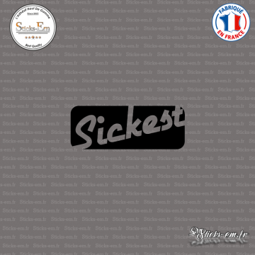 Sticker JDM Sickest