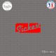 Sticker JDM Sickest Sticks-em.fr Couleurs au choix