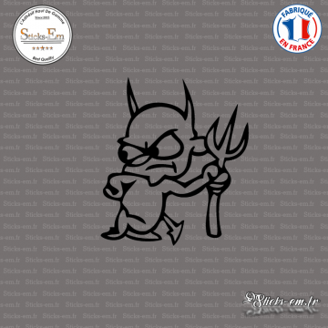 Sticker Petit Diable