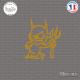 Sticker Petit Diable Sticks-em.fr Couleurs au choix