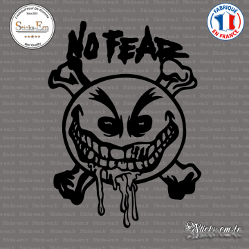 Sticker No Fear Smiley