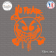 Sticker No Fear Smiley Sticks-em.fr Couleurs au choix