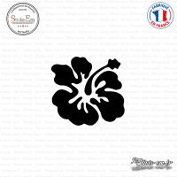 Sticker Hibiscus 01 Sticks-em.fr Couleurs au choix