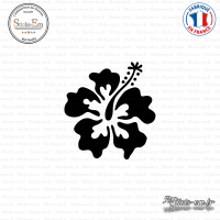 Sticker Hibiscus 02 Sticks-em.fr Couleurs au choix