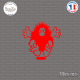 Sticker JDM Bad Boy Sticks-em.fr Couleurs au choix