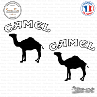 2 Stickers Camel Logo Sticks-em.fr Couleurs au choix