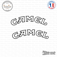 2 Stickers Camel arrondis Sticks-em.fr Couleurs au choix
