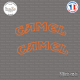 2 Stickers Camel arrondis Sticks-em.fr Couleurs au choix