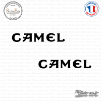 2 Stickers Camel Sticks-em.fr Couleurs au choix