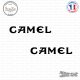 2 Stickers Camel