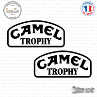 2 Stickers Camel Trophy Sticks-em.fr Couleurs au choix
