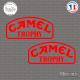 2 Stickers Camel Trophy Sticks-em.fr Couleurs au choix
