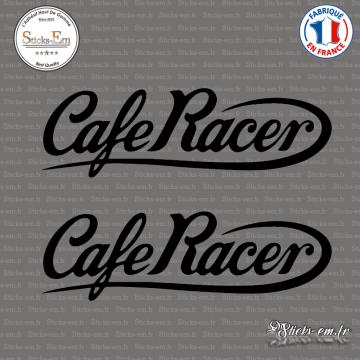 2 Stickers Café Racer