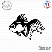 Sticker Poisson Sticks-em.fr Couleurs au choix