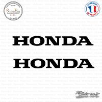 2 Stickers Honda Logo