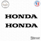 2 Stickers Honda Logo