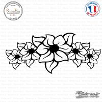 Sticker Fleurs Armband Brassard Sticks-em.fr Couleurs au choix