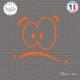 Sticker Cartoon Sticks-em.fr Couleurs au choix