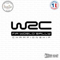 Sticker WRC FIA World Rally