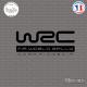 Sticker WRC FIA World Rally Sticks-em.fr Couleurs au choix
