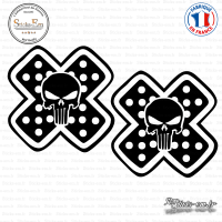 2 Stickers The Punisher Pansement
