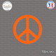 Sticker Peace and Love Sticks-em.fr Couleurs au choix