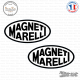 2 Stickers Magneti Marelli