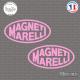 2 Stickers Magneti Marelli Sticks-em.fr Couleurs au choix