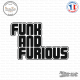 Sticker JDM Funk and Furious sticks-em.fr