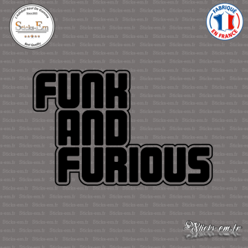 Sticker JDM Funk and Furious