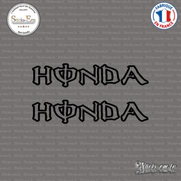 2 Stickers Honda energy