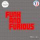 Sticker JDM Funk and Furious Sticks-em.fr Couleurs au choix