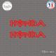 2 Stickers Honda energy Sticks-em.fr Couleurs au choix