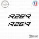 2 Stickers Renault Megane R26.R