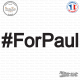 Sticker For Paul twitter hashtag