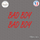 2 Stickers JDM Bad Boy Sticks-em.fr Couleurs au choix