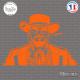 Sticker Django Sticks-em.fr Couleurs au choix