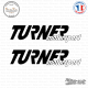 2 Stickers Turner Motorsport