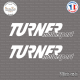 2 Stickers Turner Motorsport Sticks-em.fr Couleurs au choix