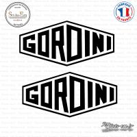 2 Stickers Gordini