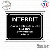 Sticker Interdit d'uriner sticks-em.fr