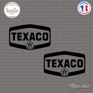 2 Stickers Texaco