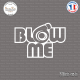 Sticker JDM Blow Me Sticks-em.fr Couleurs au choix
