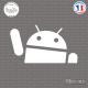 Sticker Android Logo Sticks-em.fr Couleurs au choix