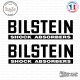 2 Stickers Bilstein Logo