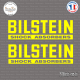 2 Stickers Bilstein Logo Sticks-em.fr Couleurs au choix