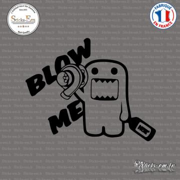 Sticker JDM Blow Me Turbo