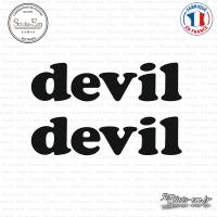 2 Stickers Devil